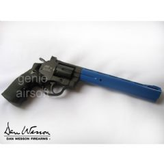 ASG Dan Wesson 8 inch Airsoft CO2 Metal Revolver Blue